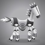 Create A Robotic Pony in Illustrator