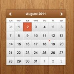 How to Design a Clean and Modern Calendar Widget in Photoshop