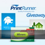 Announcement: Winners of PrintRunner Giveaway