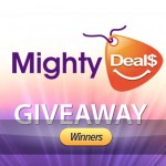 Announcement: Winners of MightyDeals Giveaway