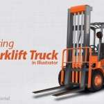 How to Create a Forklift Truck in Illustrator