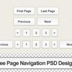 30+ Free Page Navigation (Pagination) PSD Designs