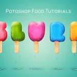 50 Tremendous Photoshop Food Tutorials