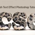 50 Fresh Photoshop Text Effect Tutorials