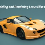Modeling and Rendering a Car in Blender and Photoshop