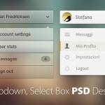 65+ Free Dropdown, Select Box PSD Designs