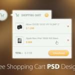 30+ Free Shopping Cart PSD Designs