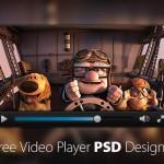 50+ Free Video (Media) Player PSD Designs