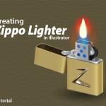 Illustrator Tutorial: How to Create a Zippo Lighter