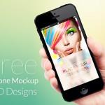 50 Free iPhone Mockup PSD Designs