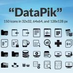 [Freebie] DataPik Icon Set: 150 Free Data Work Icons