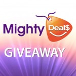 Giveaway: A Mighty Deal to 5 Lucky Readers from MightyDeals!