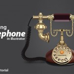 Illustrator Tutorial: How to Create an Old Style Telephone