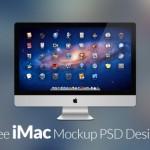 30 Free iMac Mockup PSD Designs