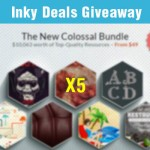 Giveaway: Win 5 New Colossal Bundles Value $10,063 from Inky Deals