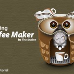 Illustrator Tutorial: How to Create a Cute Coffee Maker