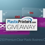 Giveaway: Win 250 Plastic Business Cards from PlasticPrinters