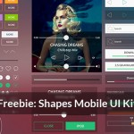 [Freebie] Shapes Mobile UI Kit