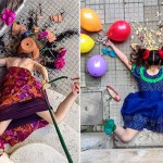 30 Brilliant Photos of People Posing As If They Have Just Fallen Down