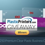 Announcement: Winners of PlasticPrinters Giveaway