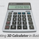 Illustrator Tutorial: How to Create a Realistic 3D Calculator