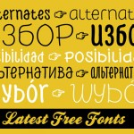 40 Latest High-Quality Free Fonts For Professional Designers