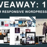 Giveaway: Lifetime subscription to over 100+ Premium  Responsive WordPress Themes