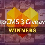 Announcement: Winner of MotoCMS 3 Giveaway
