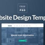 60+ Free Website Design Template PSDs