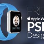 45 Free Apple Watch Mockup PSD Designs