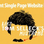 70 New Brilliant Examples of Single Page Website Design