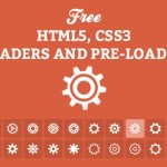 30+ Free Pure HTML5 And CSS3 Loaders and Preloaders