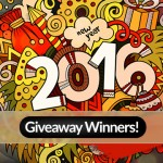 Announcement: Winners of 2016 New Year Giveaway