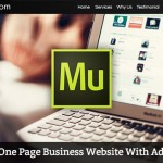 Building A One Page Small Business Website With Adobe Muse