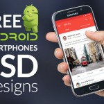 110+ Free Android Based Smartphones Mockup PSD Designs