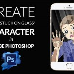 Create 'A Kid Stuck On Glass' Character In Adobe Photoshop