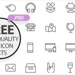 75 Free High-Quality PSD Icon Sets