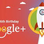 Happy 6th Birthday Google Plus! [Infographic]