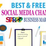 7 Best & Free Social Media Channels for Startup's Marketing [Infographic]