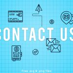 [Freebie] Contact-Us Icon Pack: 50 Icons, 3 Styles, SVG and PNG