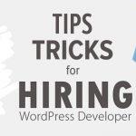 Tips & Tricks To Hire WordPress Developer