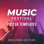 [Freebie] Music Festival Poster Pack: 2 Styles, AI and EPS