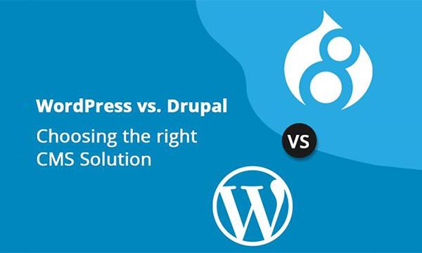 WordPress vs. Drupal: An Explicit Comparison