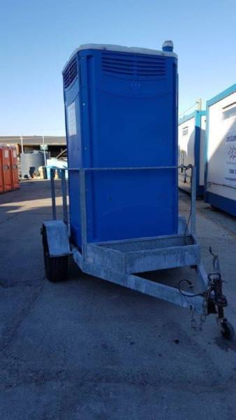 portable chem toilet on a trailer5