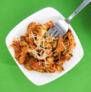 Very Veggie Pasta