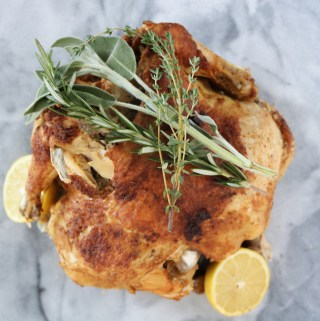 Indian Spiced Whole Chicken