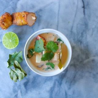 Tom Kha Soup in the Instant Pot