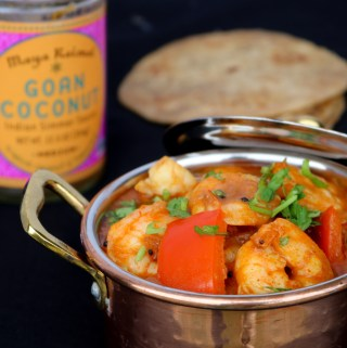 Goan Shrimp Curry in the Instant Pot