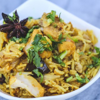 Chicken Biryani in the Instant Pot