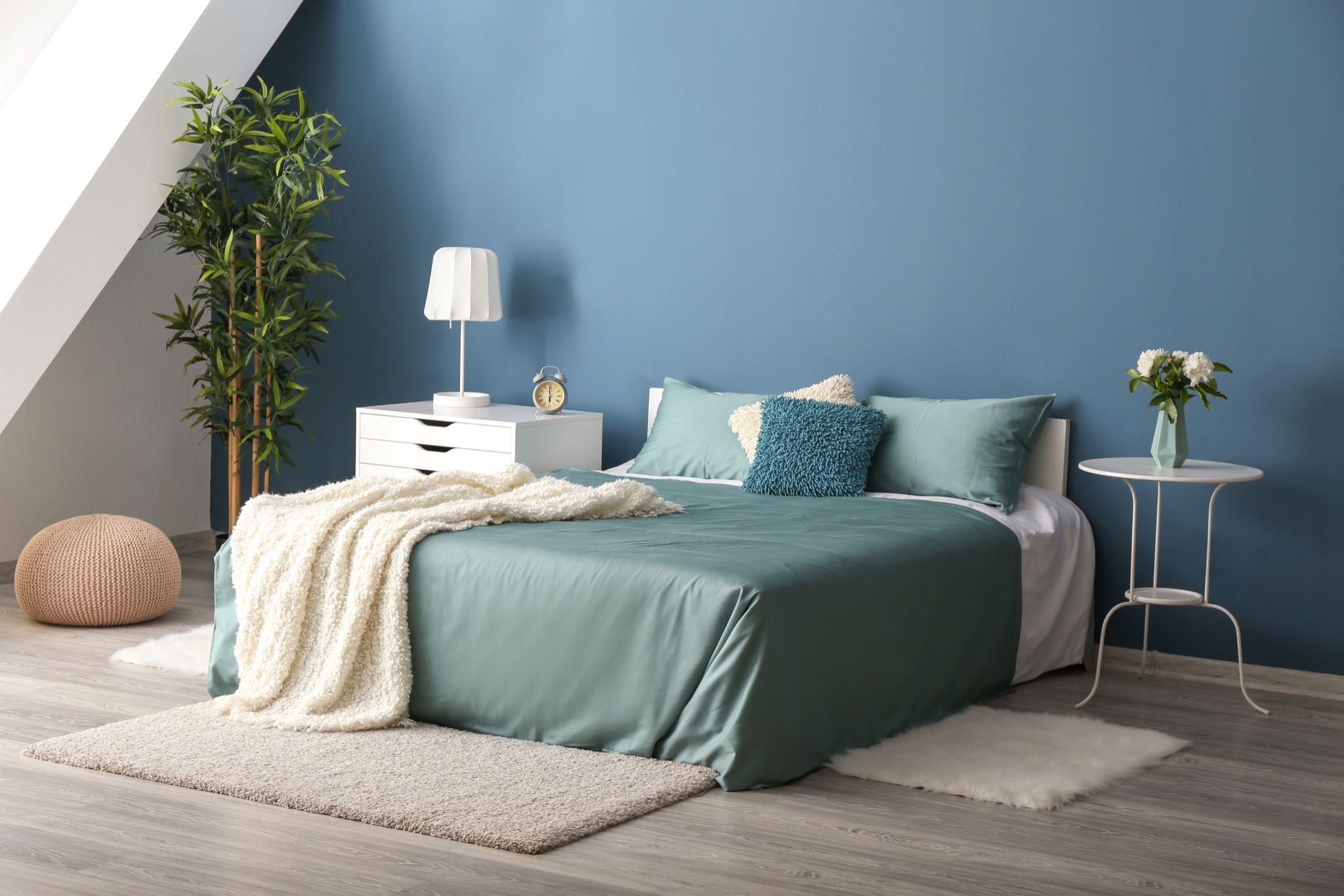 Spesso la parete diversa è quella dove c'è la testata del letto. Idee Colori Pareti Camera Da Letto Instapro